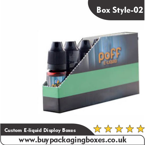 Custom E-liquid Display Boxes