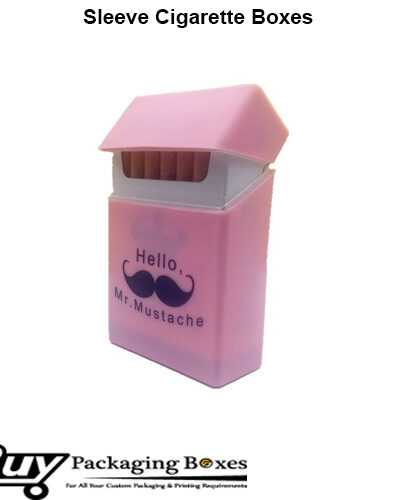 Sleeve Cigarette Boxes Printing