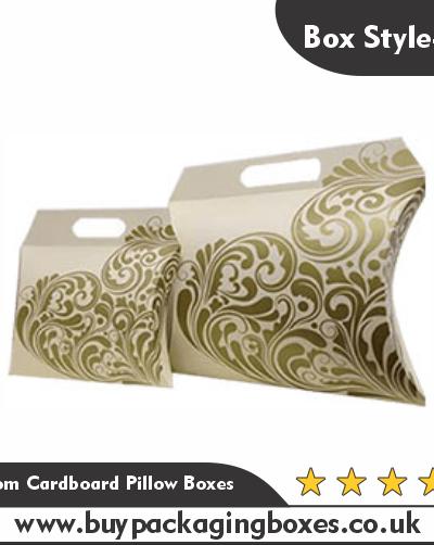 Custom Cardboard Pillow Boxes