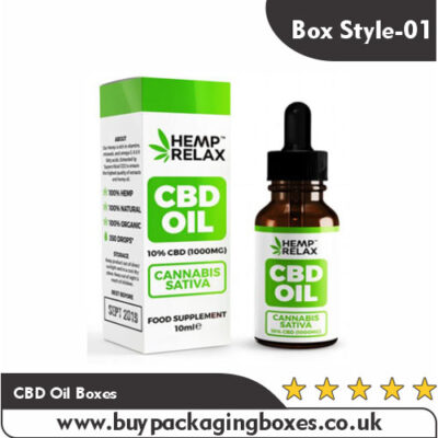 CBD Oil Boxes
