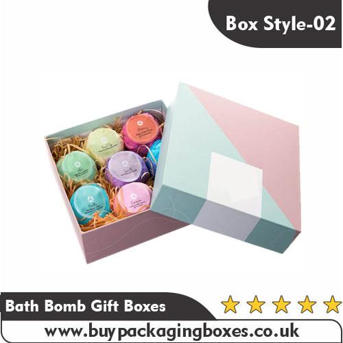 Bath Bomb Gift Boxes