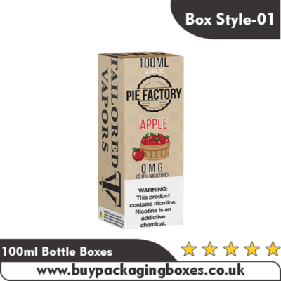 100ml Bottle Boxes