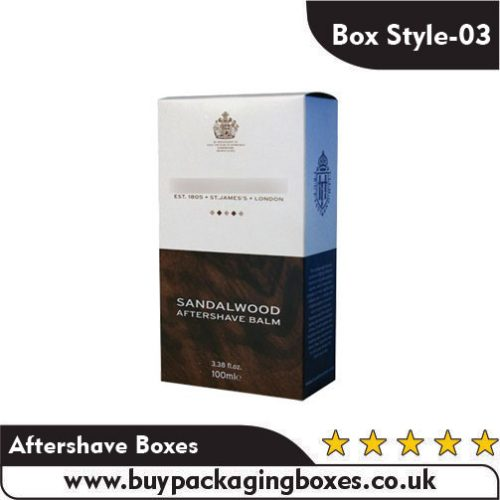 Aftershave Packaging Boxes