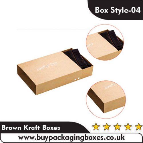 Brown Kraft Boxes