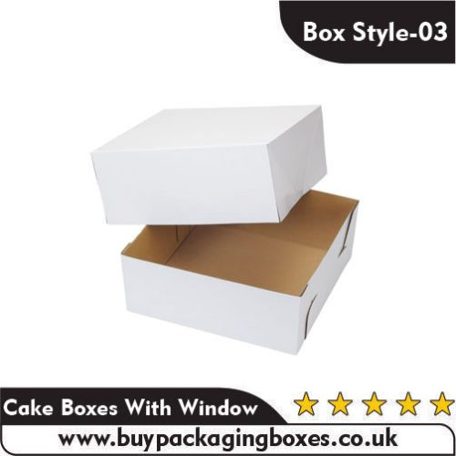 Cake Boxes With Window 1